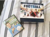 Box set of 10 dvd collection:The Complete Football Collection.
