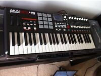 AKAI MPK 49 KEY MIDI KEYBOARD