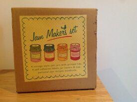 Jam making set - brand new in packaging