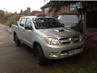 Toyota Hilux Double Cab 2008 143k 1 owner mot drive away