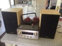 Teac tuner and speakers