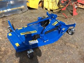 New Fleming finishing mower for compact tractor