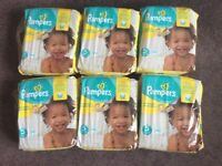 Pampers premium protection size 5. 6 new/ unopened packs £25