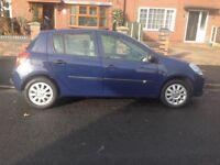 5 door hatch blue 1.2 clio 12 month mot 9 service stamp test drive 07870836449 £1275 ono