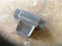 Model stabiliser screw for tractor