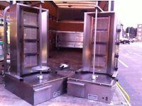 USED DONER KEBAB GRILL MACHINE FAST FOOD TAKE AWAY KITCHEN BAR RESTAURANT SHOP