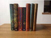Seven Artemis Fowl books, excellent condition