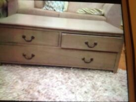 Shabby chic project, chest with drawers/ TV stand