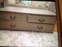 Shabby chic project, chest with drawers