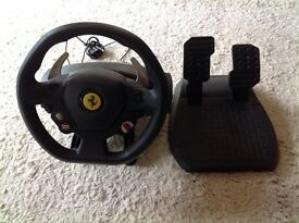 Thrustmaster Steering Wheel for Xbox 360