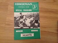 Wanted - Old Hibernian FC Tickets, Programmes and Memorabillia