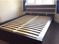 IKEA Bed Frame [HOPEN] Black