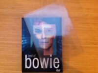 Two DVD boxset Best of Bowie with sleeve notes and protective case