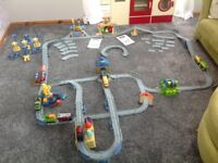 Chuggington Interactive Train Set, track, trains and extras