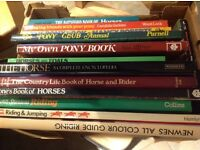 Horse and pony books