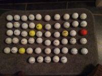 60 good condition srixon golf balls found while dog walking.