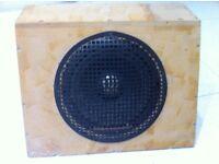 """Pioneer 10"""" car sub in sealed box"""