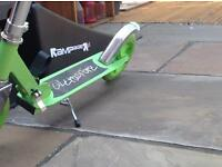 Ultra sport kids scooter with stand