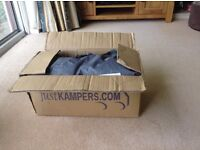 VW camper van cover for T4/T5 by Just Kampers. Never used. Breathable with door openings.