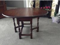 Old Charm small gate leg table