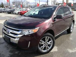 2011 FORD EDGE LIMITED - HEATED LEATHER - BACKUP CAM - BLUETOOTH