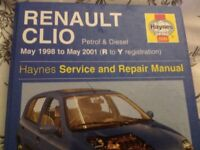 Renault Clio workshop manual