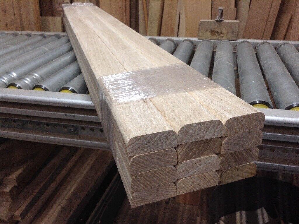Hardwood Ash Timber Garden Bench Seat Slats For Cast Iron