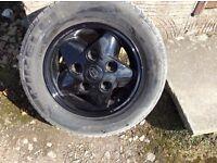 Range rover Defender alloy wheels