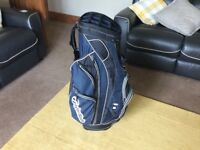 Taylormade full golf set with Nike driver and electric trolly