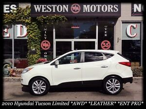 2010 Hyundai Tucson *Limited *AWD *LEATHER *SUNROOF *ENT PKG