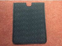 Cerruti 1881 poly cotton and leather ipad sleeve (brand new)