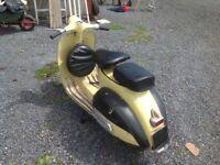 Classic 1967 Piaggio Vespa Scooter