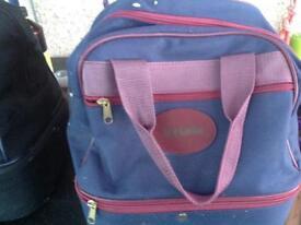 Bowling balls Henselite x4 in a Bowling bag Acclaim.