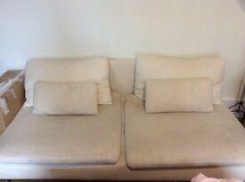 Beige sofa from IKEA