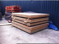 2600mm x 1900mm x 30mm MDF Sheets Timber Wood Decking Pallet Racking Boards