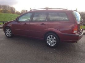 Ford Focus Estate Ghia Tddi Diesel