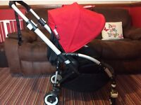 Bugaboo bee plus with lots of extras