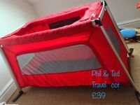 Phil & Ted Travel Cot