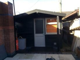 Timber cabin. 4.2mx3m. Very solid cosruction. Buyer to dismantle and transport.