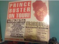 "PRINCE BUSTER ON TOUR ! INCLUDES THE ADVERTISED ""MADNESS"" TUNE"