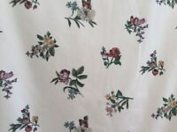 Dorma curtains,valance, tiebacks and lampshade