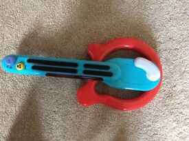 ELC 'electric' guitar for 2/4 year old- £3
