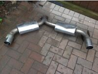 Toyota MR2 turbo stainless exhaust