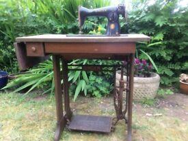 1951 centennial singer sewing machine.