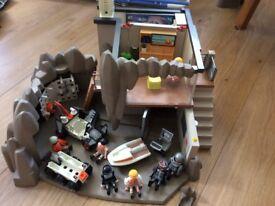 Playmobil Secret Agent HQ