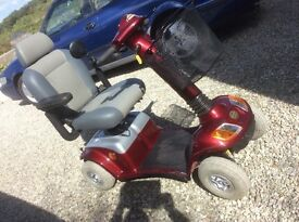 8 mph strider Mobility scooter in VGC, bright bodywork, VG batteries, comfortable ride