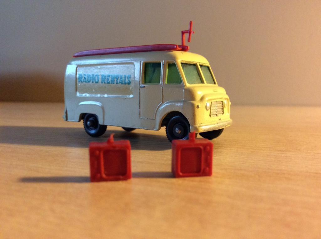 Lesney Radio Rentals TV Van Toy #63