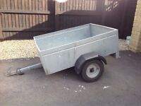 Used Caddy Box Trailer