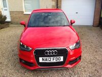 AUDI A1 TFSI 2012, RED,FSH, 38,000 MILES EXCELLENT CONDITION,ADDED EXTRAS