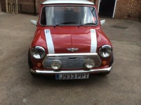 Classic Mini Cooper last of the carbs 1991, immaculate fully restored, 37,500 miles